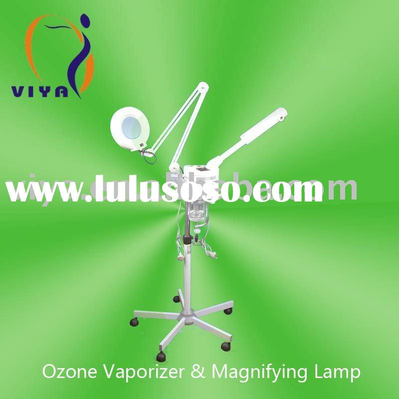 VY-707+ 2 in 1 Ozone Vaporizer facial steamer with magnifying lamp(CE approval)