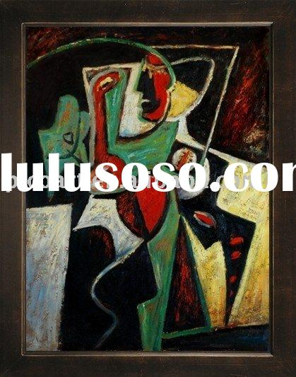 abstract people paintings