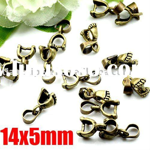 antique brass bronze bails Jewelry Findings Jewelry Accessories Jewelry Fittings Jewelry Components