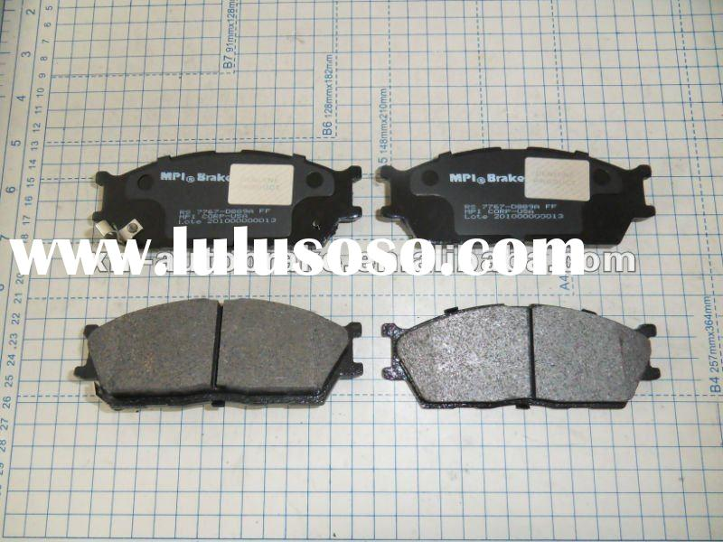 auto spare parts brake pad manufacturer kia rio