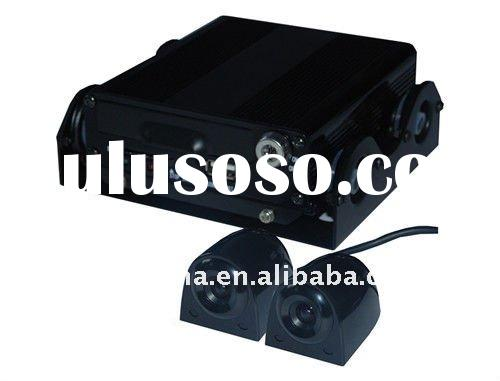 four channel hd car reversing camera surveillance dvr recorder for all automobiles