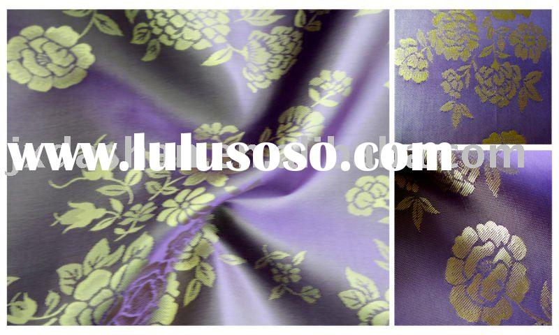 jacquard polyester viscose fabric/garment lining/woven fabric