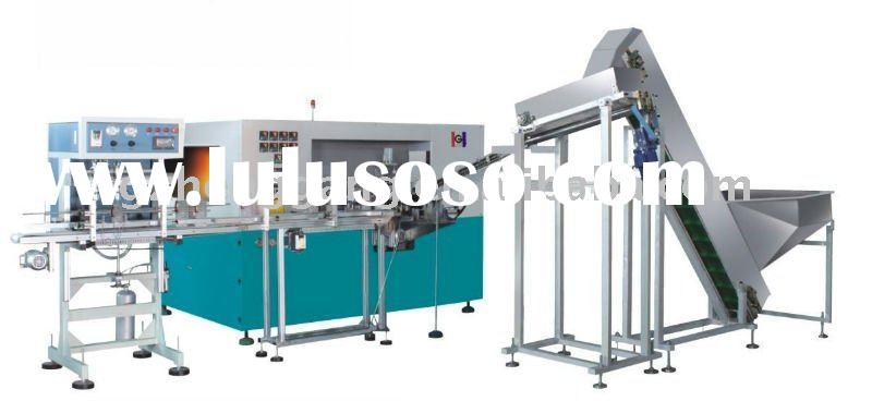 plastic bottle making machine with handle pre-insert