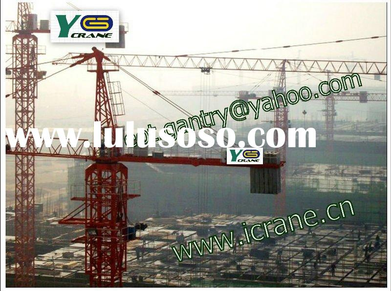 various goodcost tower crane,used optain tower crane,used tower crane