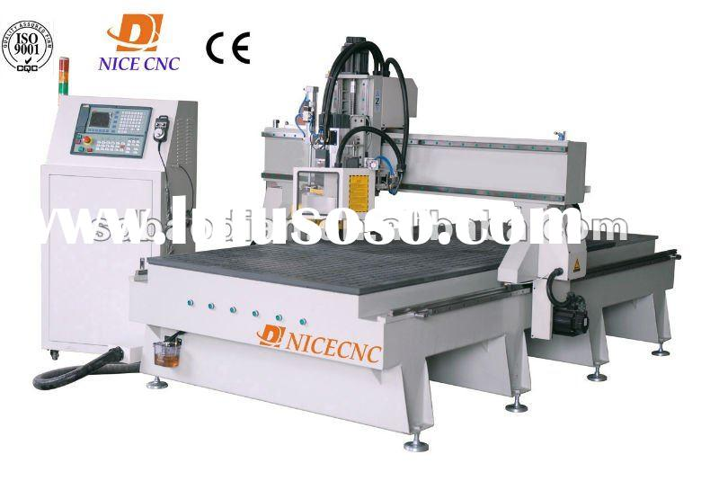 wood engraving machine BD-1325 with Italy HSD air cooling