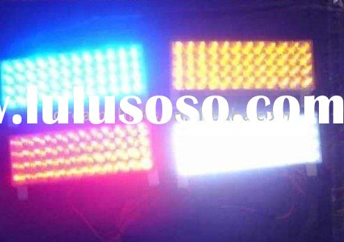 192 LED 4 x 48 LED Car / AUTO emergency vehicle strobe lights 3 mode Amber / Red / White / Blue