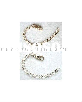 2 Inch Silver Plated&Gold Plated Necklace Extender Chain Jewelry Findings Jewelry Accessories Ni