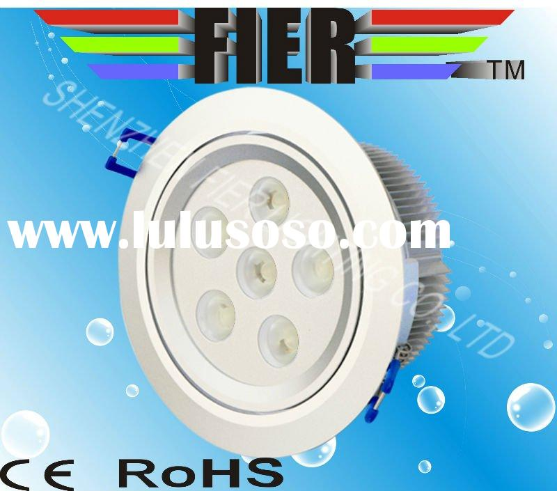 6W LED down light,ISO9001 leading manufacturer in China