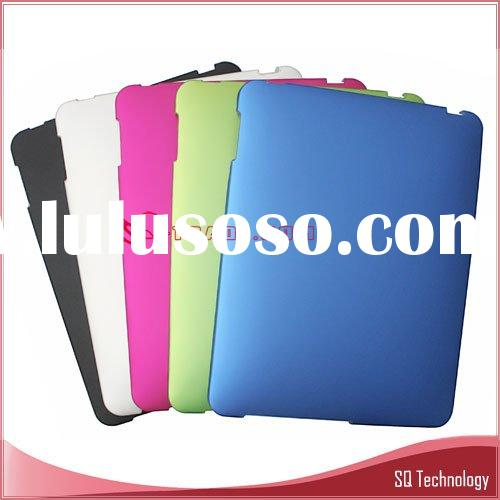Aluminum Back Case for iPad with Silicon