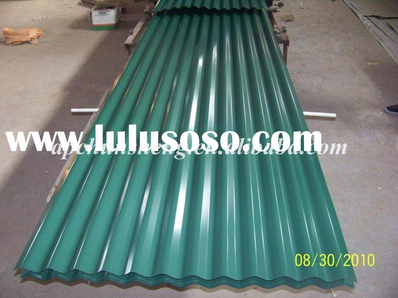 Aluminum Zinc Coated Galvanized Iron Roofing Sheet
