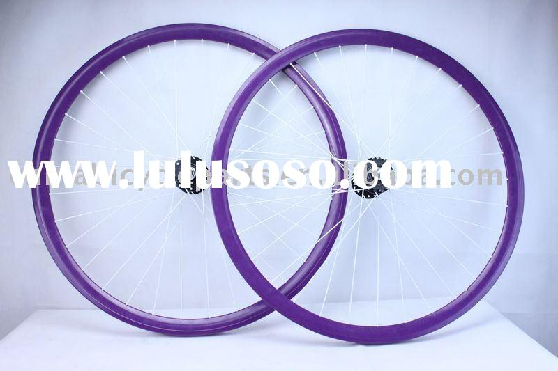 Bewer aluminum alloy purple track wheelset