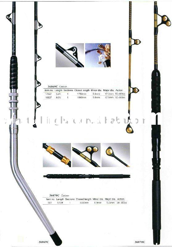 Boat Rod,Sea Fishing Rods,Big game fishing rods