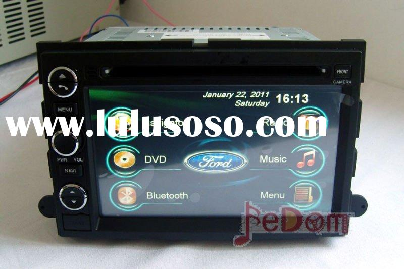 Car DVD GPS Navigation/Auto Radio/MP3 player/Bluetooth/iPod/touch screen for Ford Fusion/Edge/Expedi