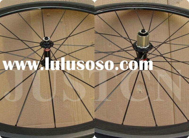 Cheap carbon bicycle wheel 38mm tubular 700C road cycle wheel