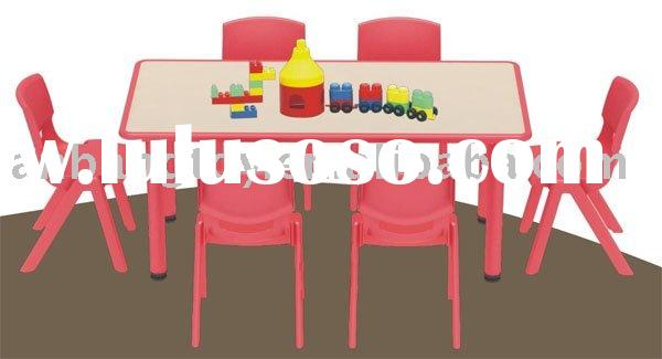 Children's Tables And Chairs ( Children's Chair & Rectangle Table )
