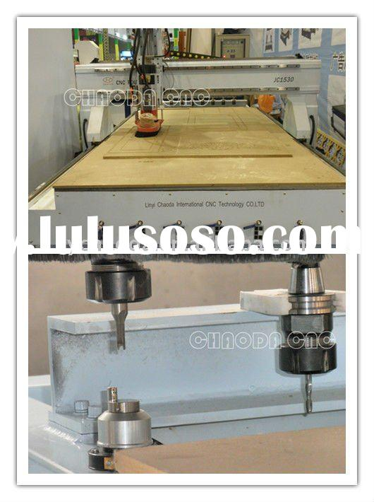 Economical ATC CNC router for woodworking