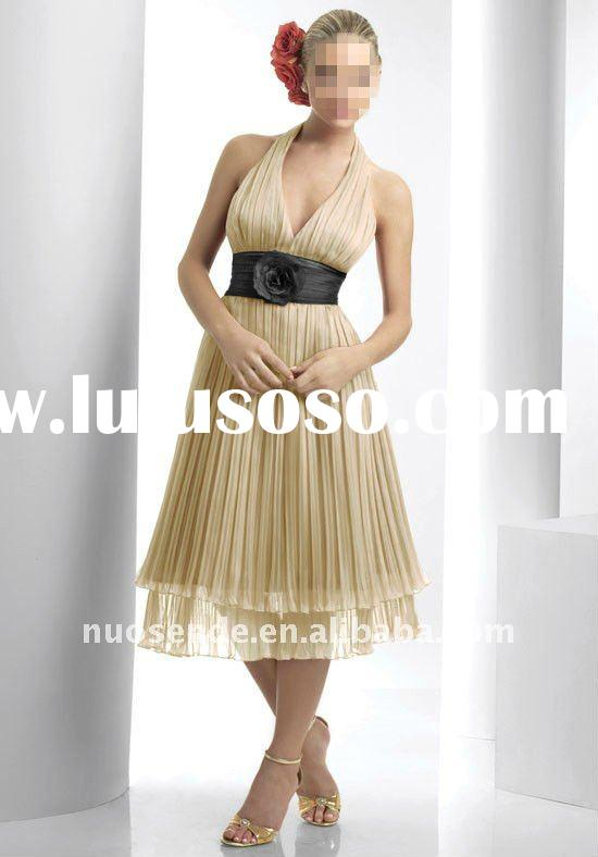 Free Shipping Gauze Beach Dress For Mother If Groom Gauze Beach Dresses For Wedding Guests Gauze Bea
