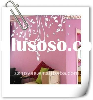 LY-055 Funky Flower Wall Stickers For Kids Room