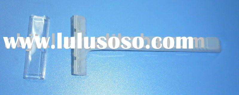 Manufacture! clear disposable razor single blade jail use prisoner blade