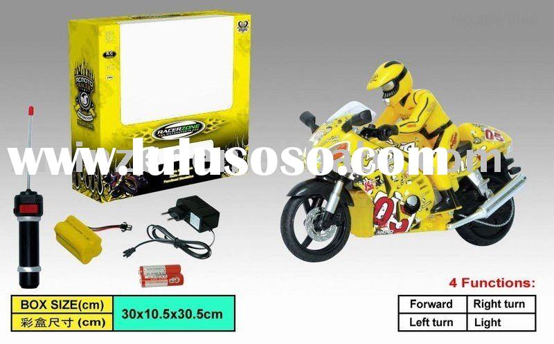 RADIO CONTROL MOTORCYCLE (INCLUDED BATTERY OPERATED)