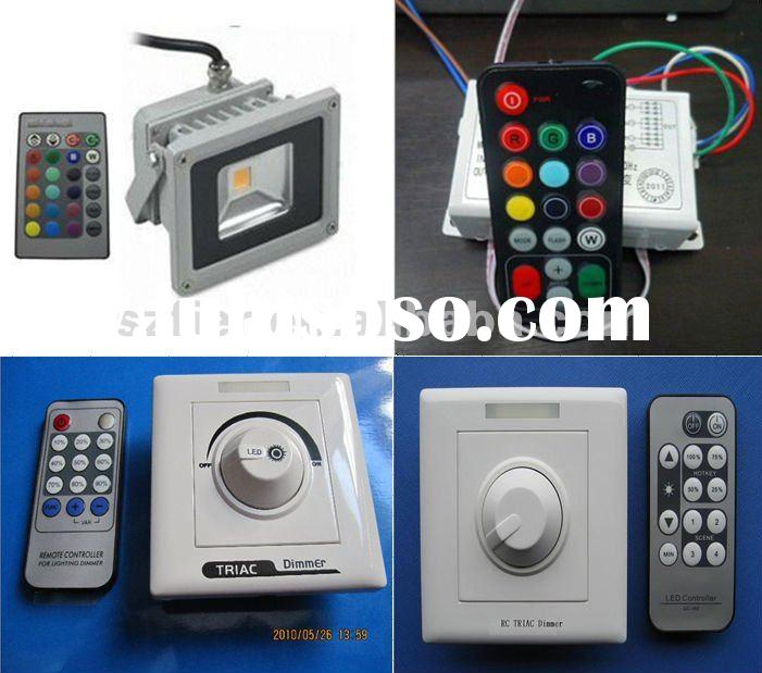 UL IP67 10W / 20w led flood light dimmer 220v 240v RGB IR/triac dimmer controller/IR Sensor