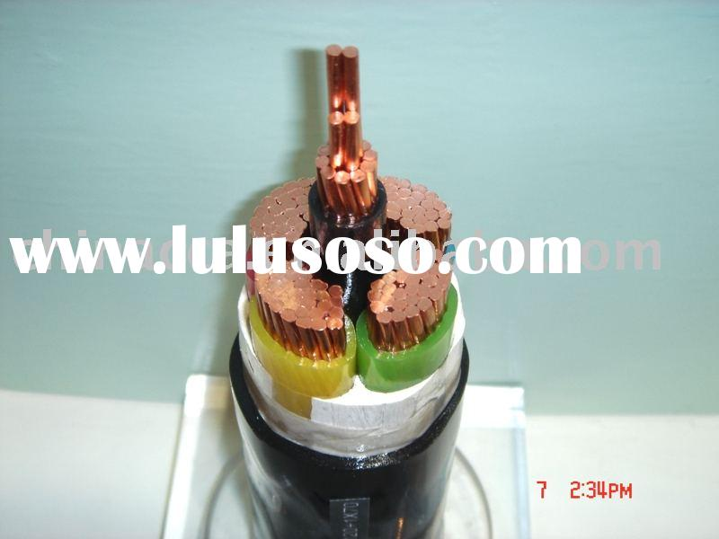 XLPE Insulated Cable YJV 0.6/1KV 4X120+1x70