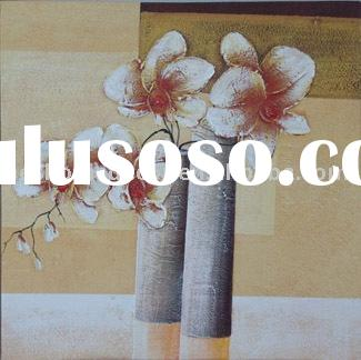 acrylic paintings, painting, flower oil painting