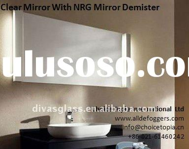 bathroom cabinet mirror defogger with mirror demisting