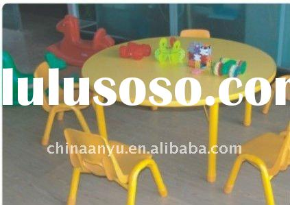 children chair and round table set preschool furniture children furniture AMQ030F