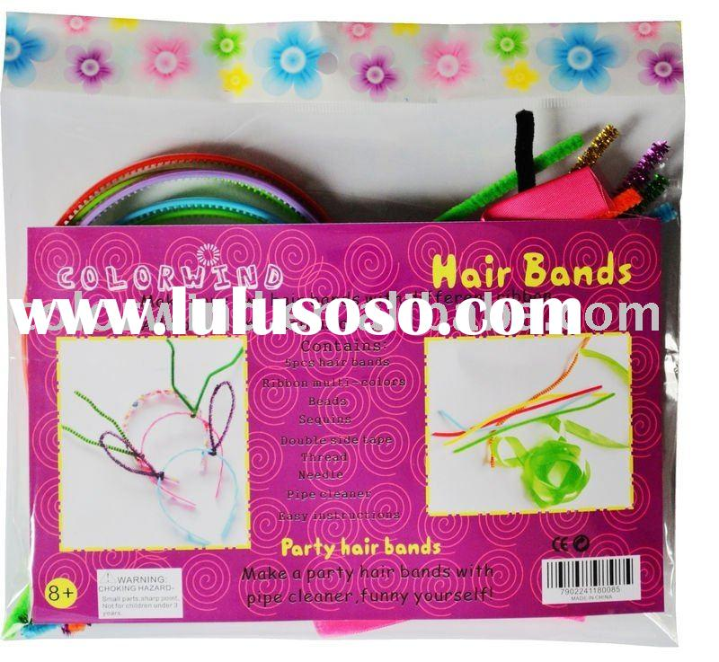 hair bands diy craft kit