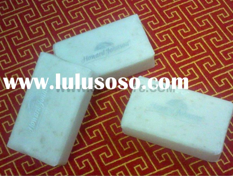 hotel guestroom amenities-hotel soap in wax paper packing,hotel supplies,hotel toiletry