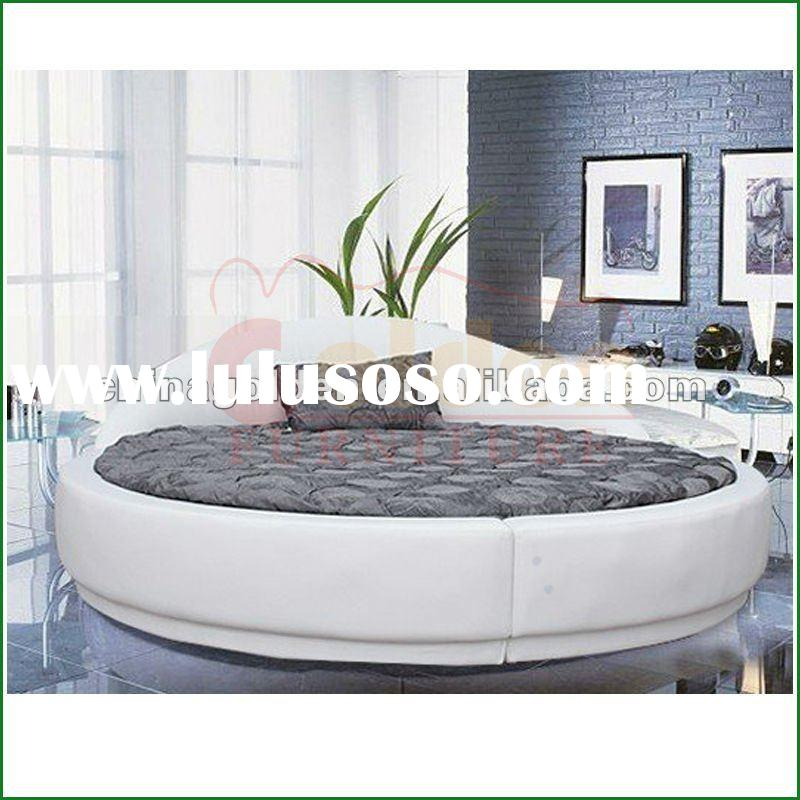 king size round leather bed designed for you