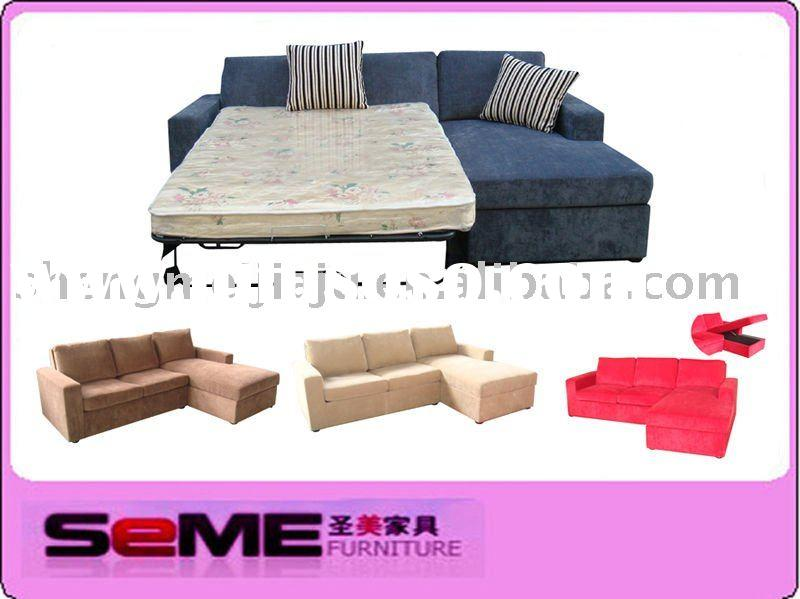 living room modern fabric sofa bed SMB-908