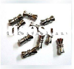 mini123***Free Shipping 100pcs silver/gold plated, bronze-coloured magnetic clasps findings