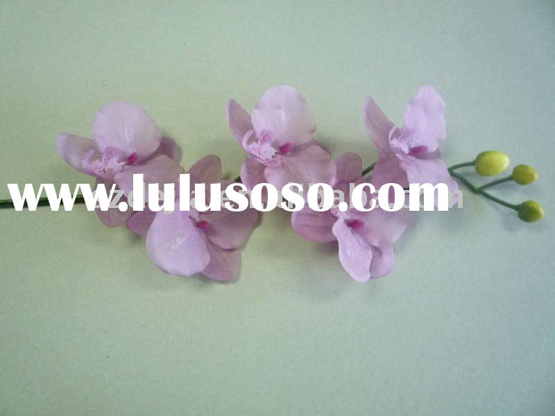 plastic artificial orchid flower ,high quality and cheap price