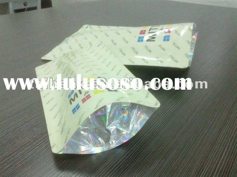 toner packaging bag with hologram bottom/aluminum foil bag