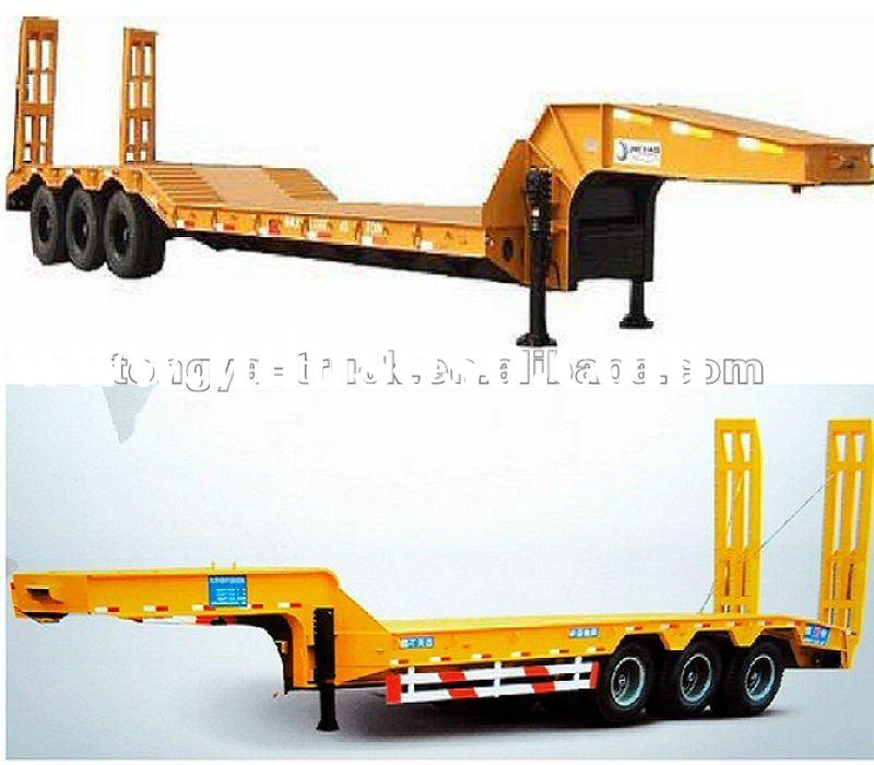 height of semi low bed trailer 2