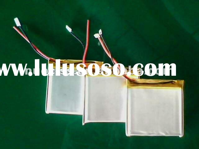 063450 3.7v 1100mah rechargeable li-polymer battery (customer design)