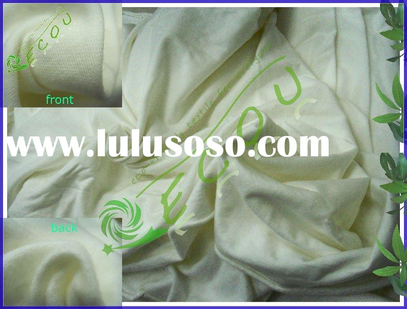 100% organic cotton fleece fabric