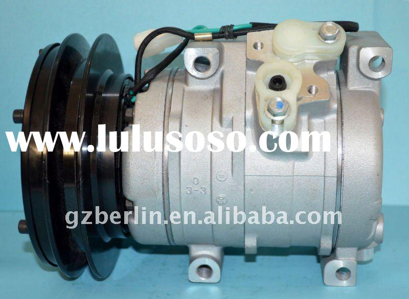 10S15C auto air-conditioning compressor for Komatsu Excavator