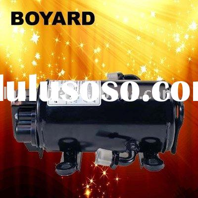 12vV/24V/48V/72V DC compressor for air conditioner of truck tractor Electric cars Excavators cabin