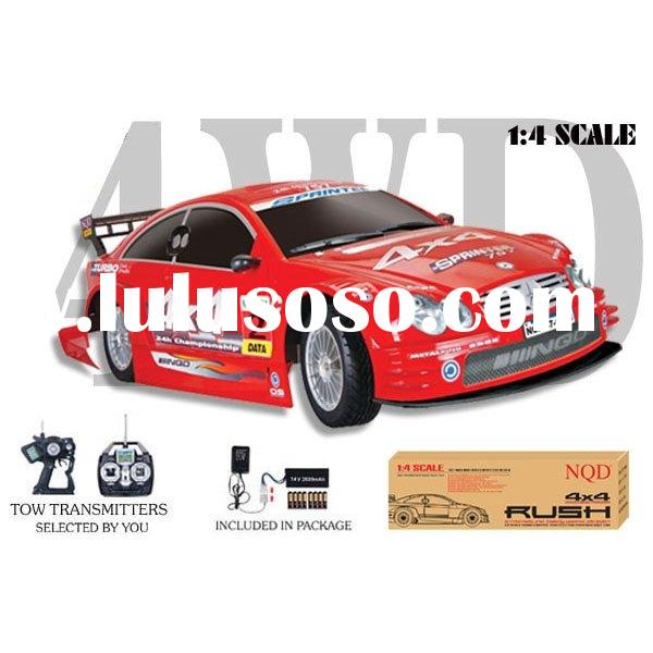 1:4 4WD scale r/c car, model car