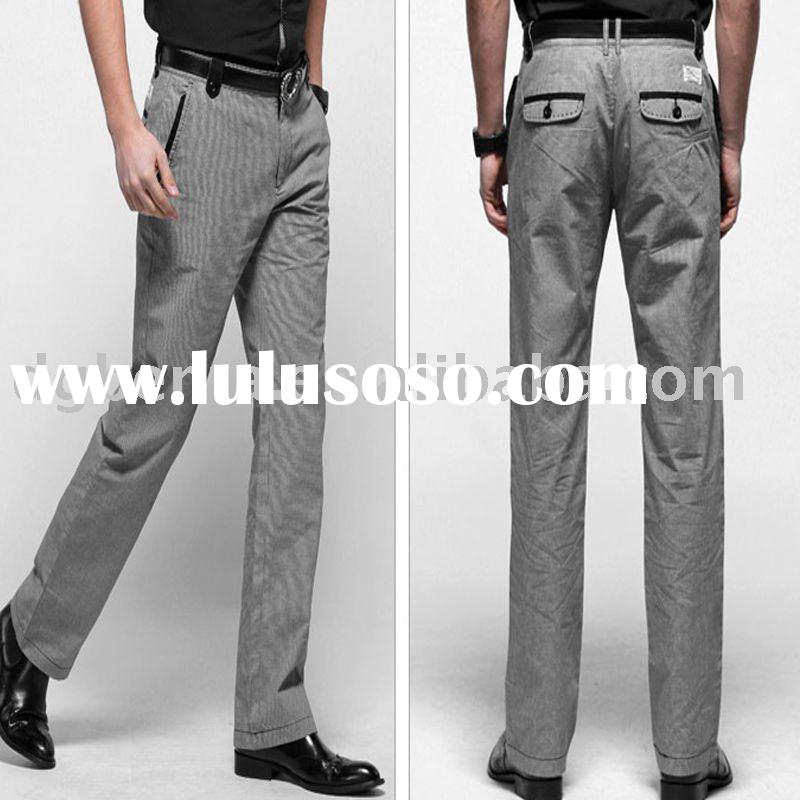 2011 High Quality Newest Design Fashion Cotton Casual Men's Pants