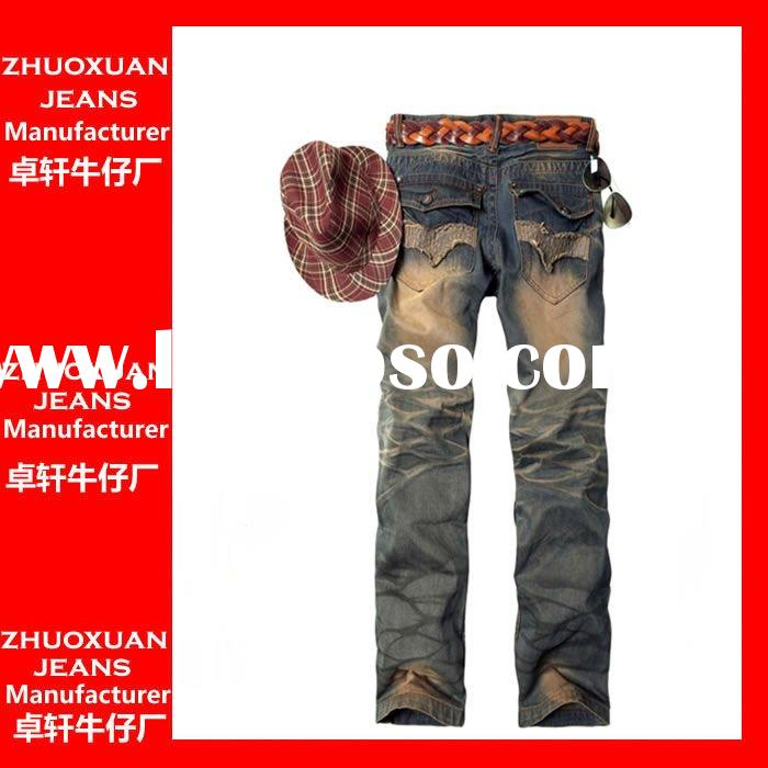 2011 hot sell fashion brand new men jeans