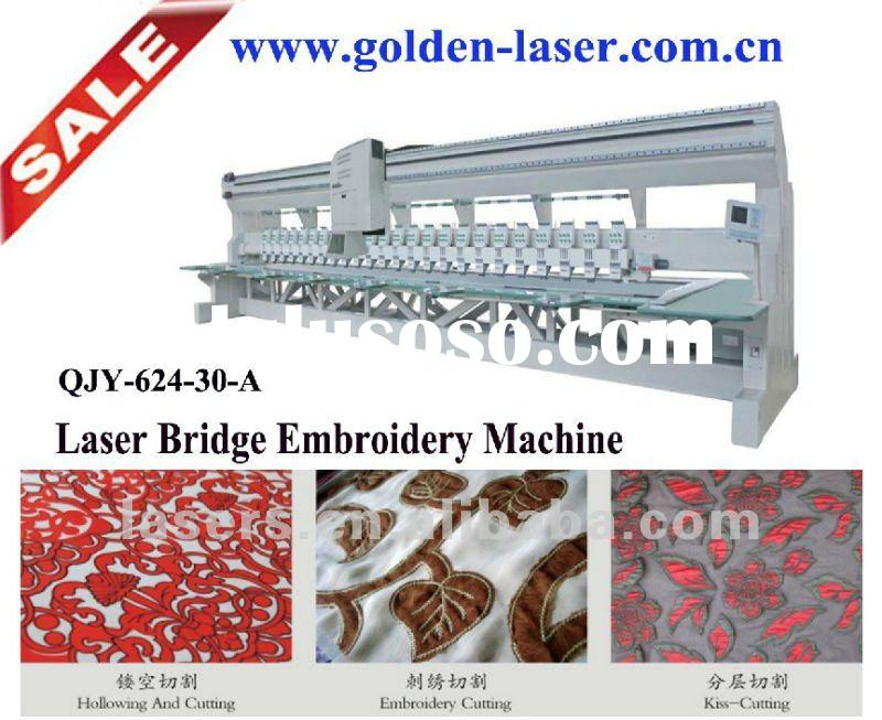 2012 Laser Cutting Embroidery Machine For Sale In China