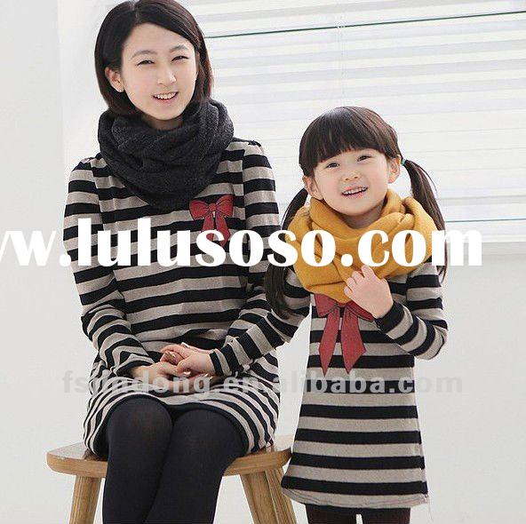 2012 New Spring / Family Clothing / Family dress / Womens clothing =JD-DZ0105
