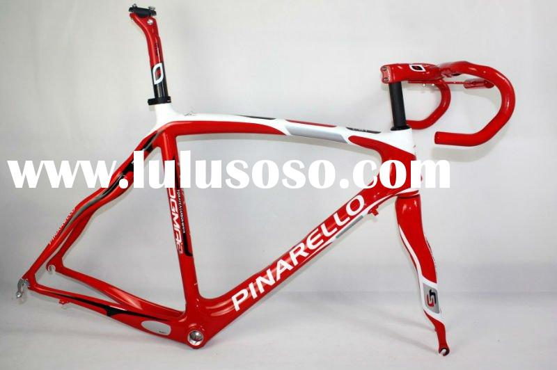 2012 Pinarello frame W7 full carbon road bike frame fork and headset 50,52,54,56,58cm, wholesale