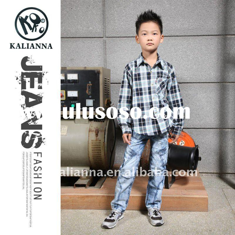 2012 boys jeans children wear trousers kl-8004#