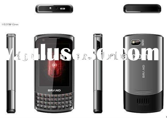 2012 new cell phone Celulares Qwerty+ Touch Screen+TV dual sim low cost phone unlocked handphone