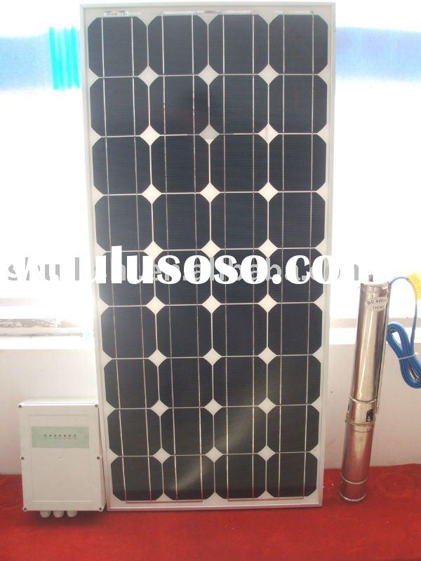 2012 new design 3inch DC solar water pump,screw pump